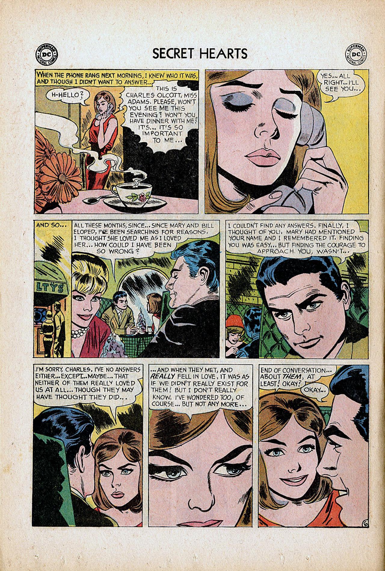 Read online Secret Hearts comic -  Issue #86 - 8