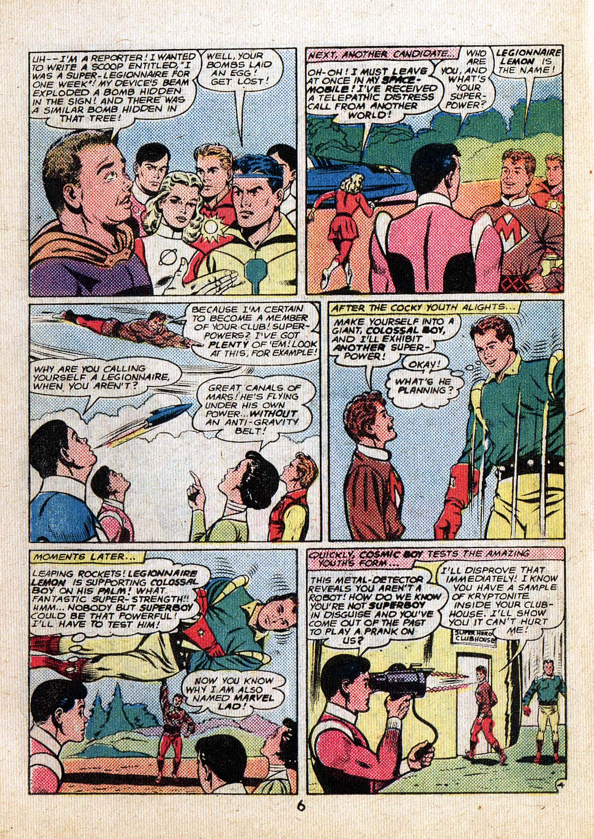 Read online Adventure Comics (1938) comic -  Issue #500 - 6