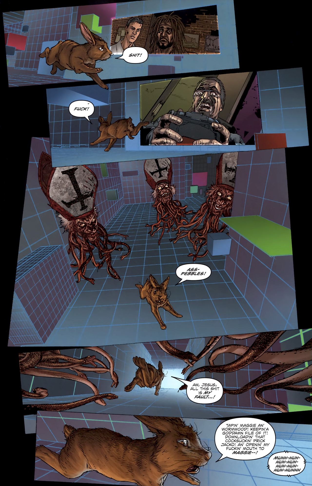 Read online Chronicles of Wormwood: The Last Battle comic -  Issue #5 - 18