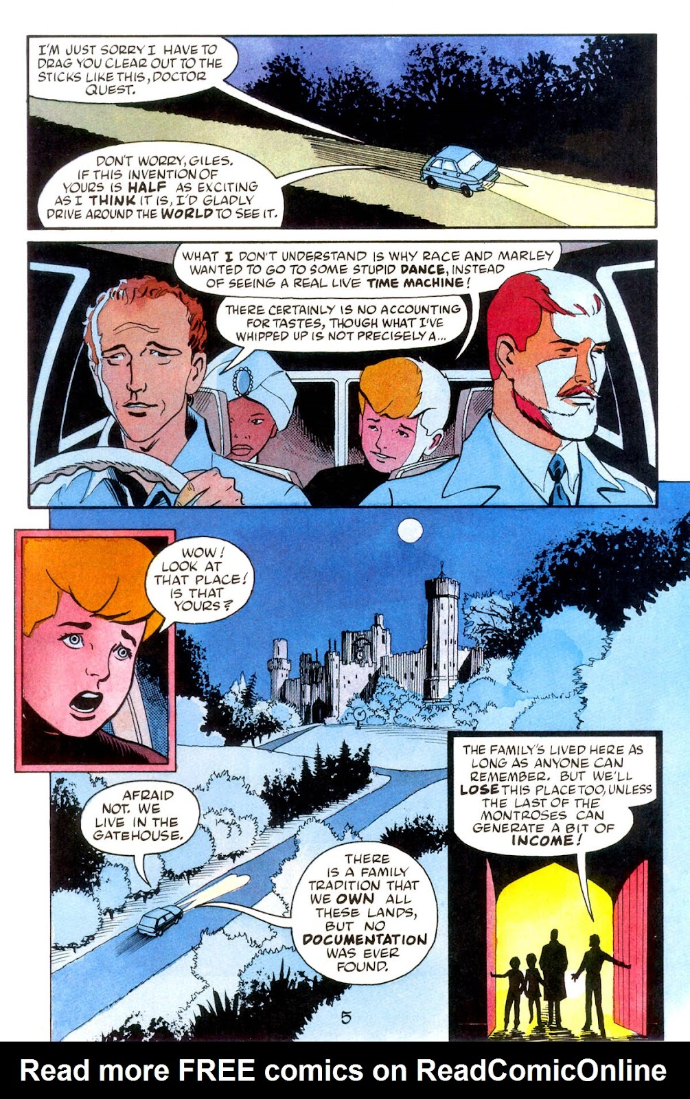Jonny Quest (1986) issue 10 - Page 7