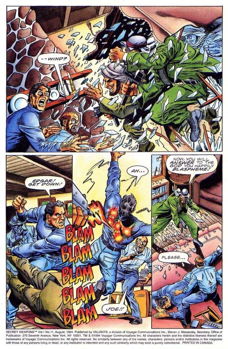 Read online Secret Weapons comic -  Issue #11 - 4