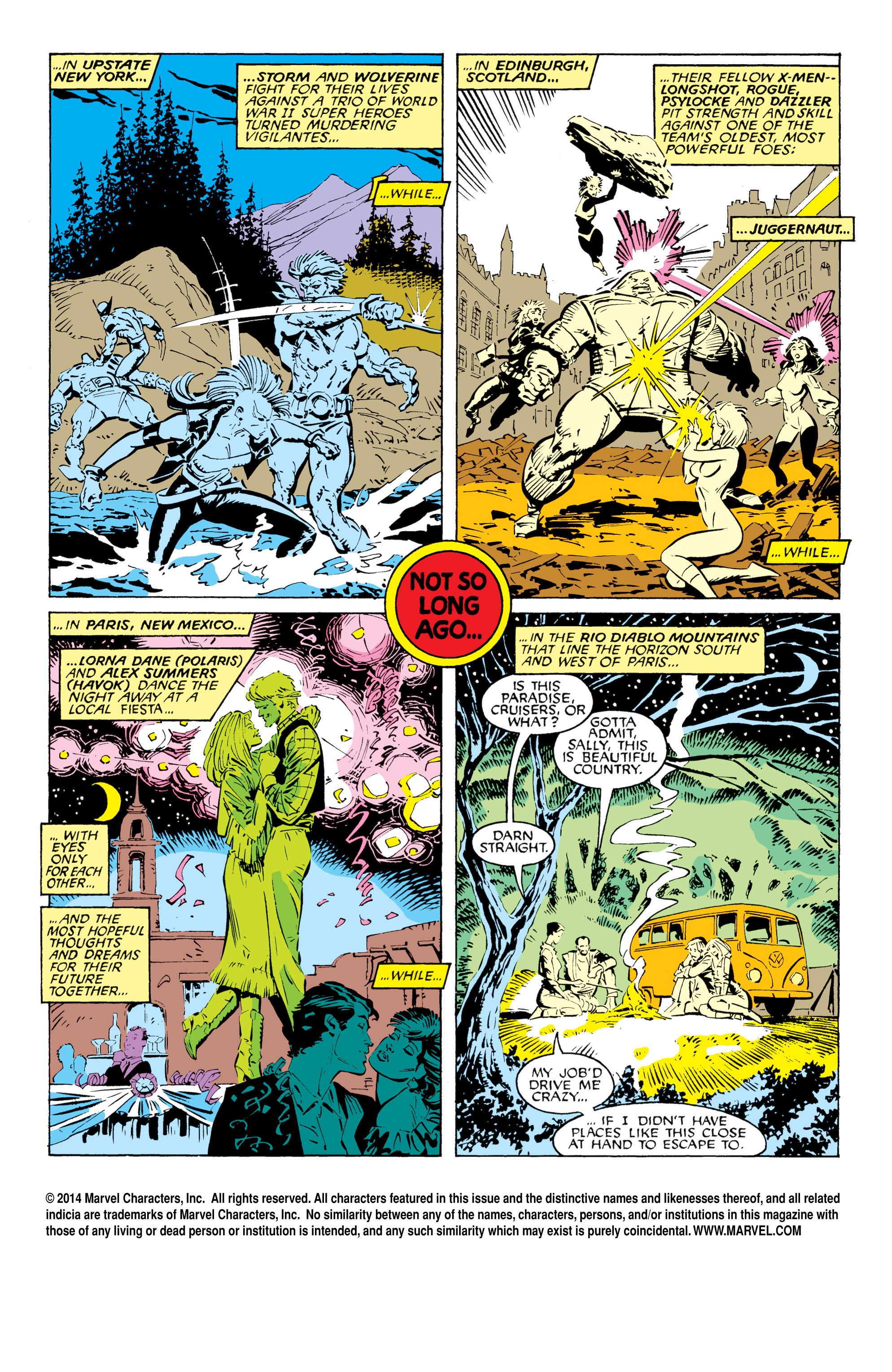 Read online Uncanny X-Men (1963) comic -  Issue #232 - 2