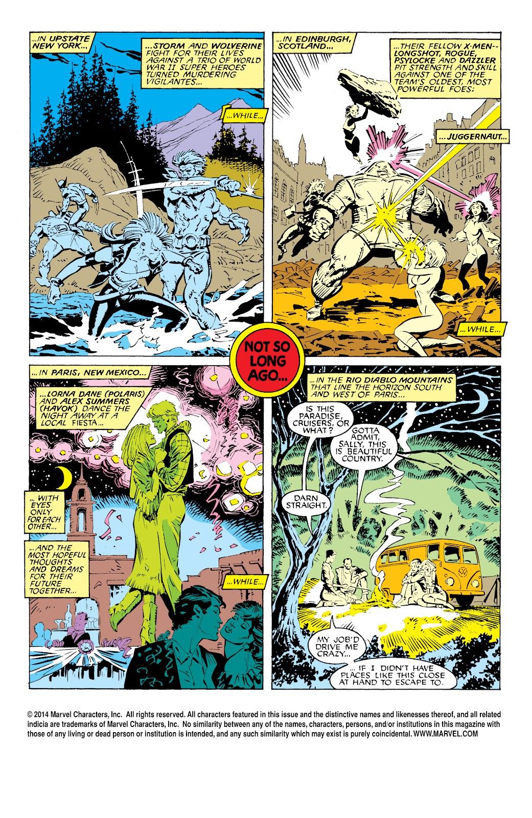Uncanny X-Men (1963) issue 232 - Page 2