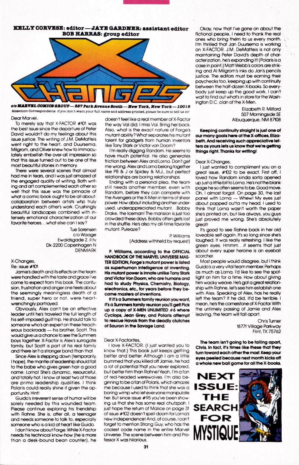 Read online X-Factor (1986) comic -  Issue #107 - 22