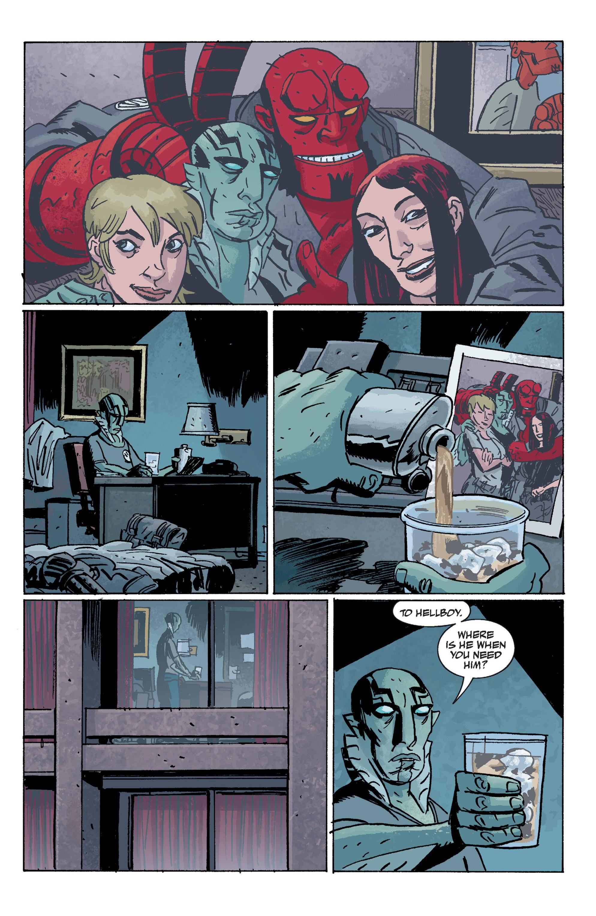 Read online B.P.R.D. (2003) comic -  Issue # TPB 10 - 132
