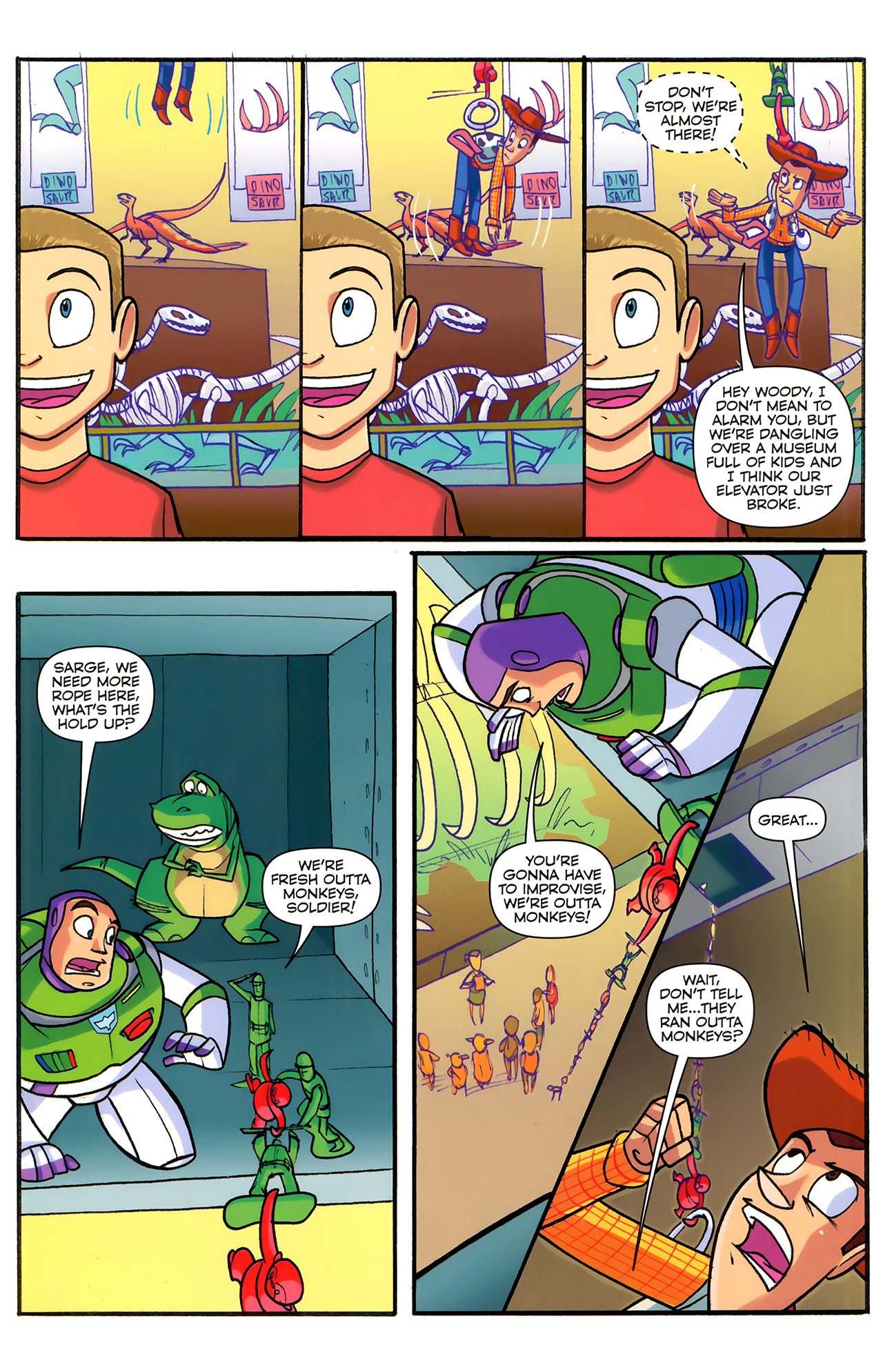 Read online Toy Story (2009) comic -  Issue #6 - 17