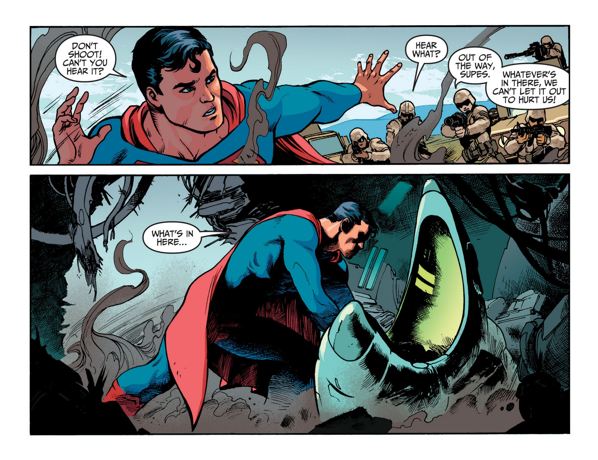 Read online Adventures of Superman [I] comic -  Issue #13 - 9