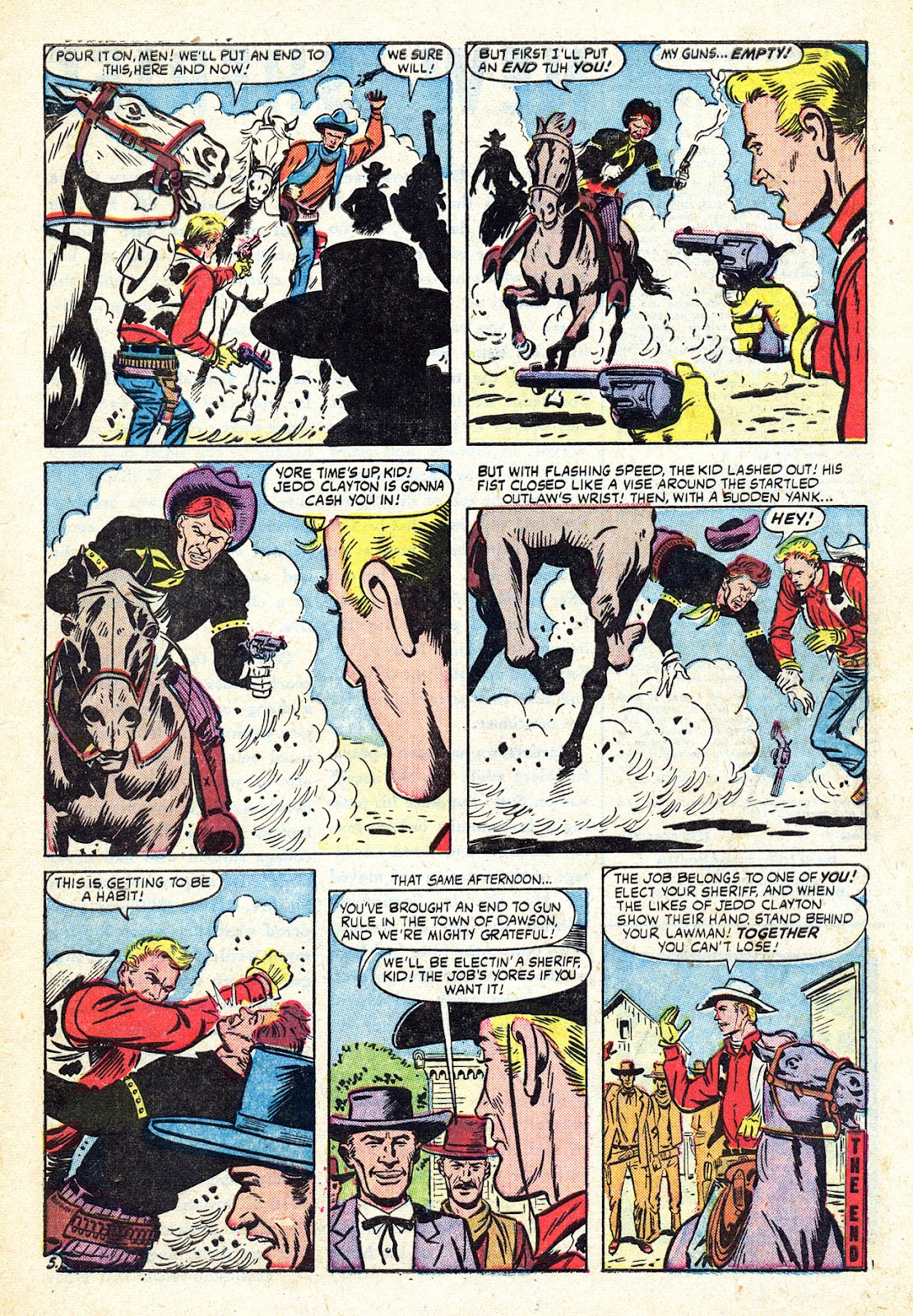 Gunsmoke Western issue 34 - Page 7
