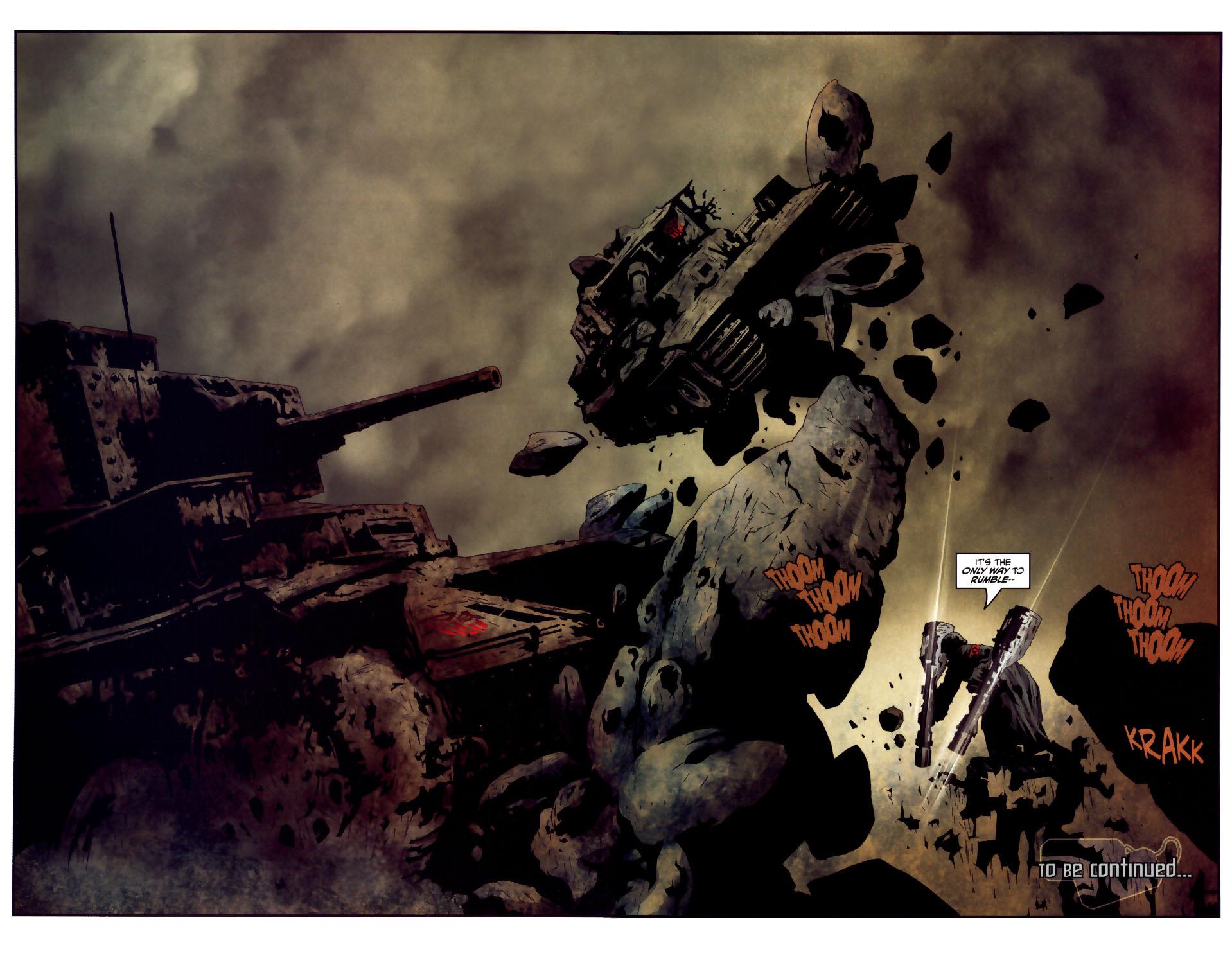 Read online Transformers/G.I. Joe comic -  Issue #3 - 20