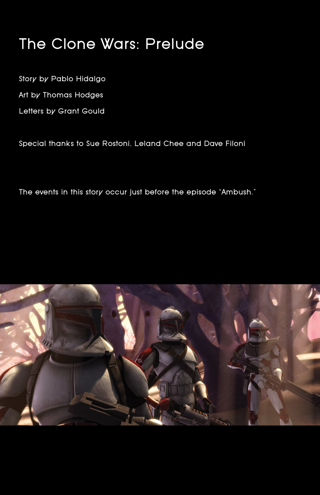 Read online Star Wars: Tales From The Clone Wars comic -  Issue # TPB - 3