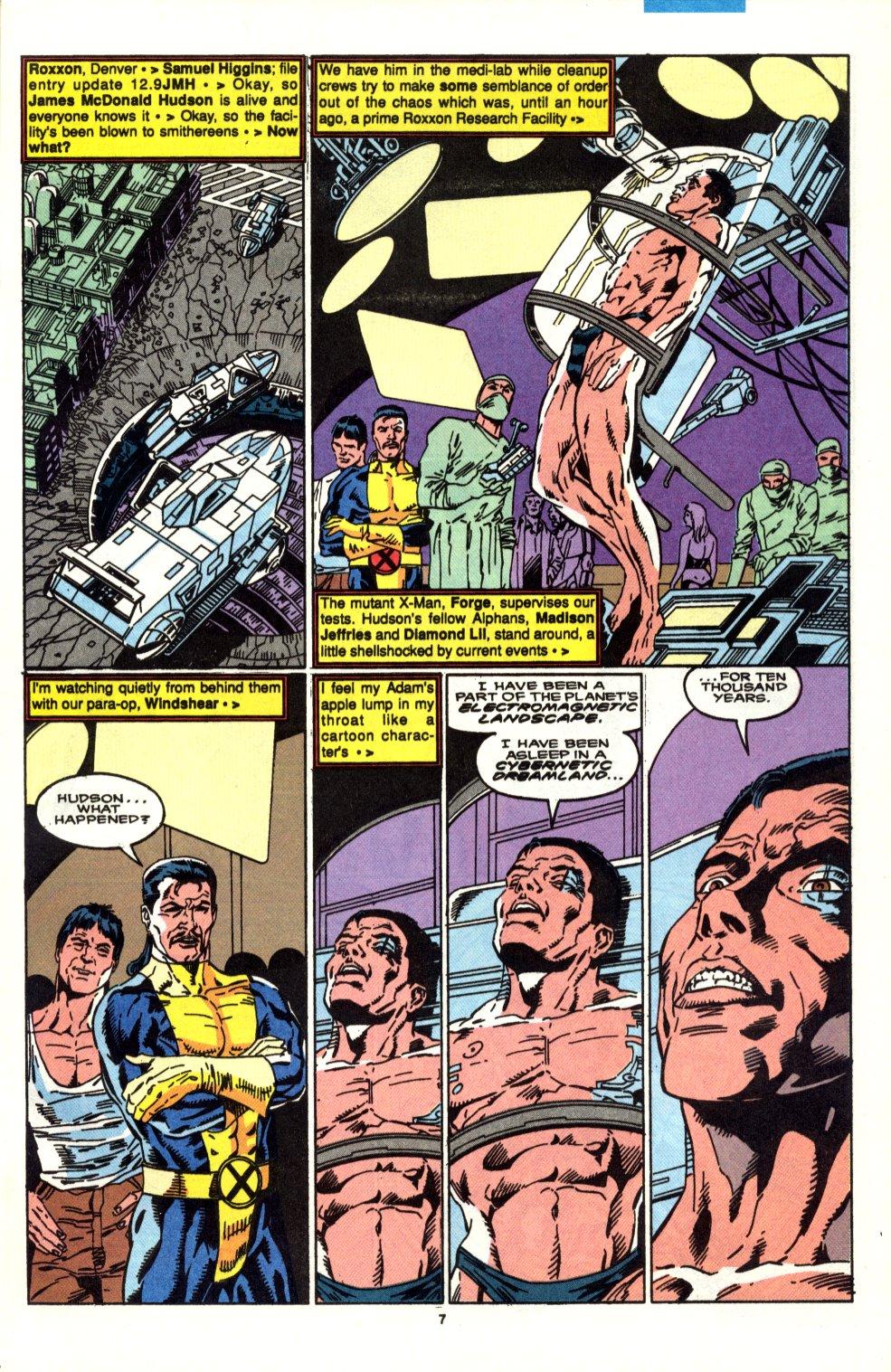 Read online Alpha Flight (1983) comic -  Issue #90 - 6