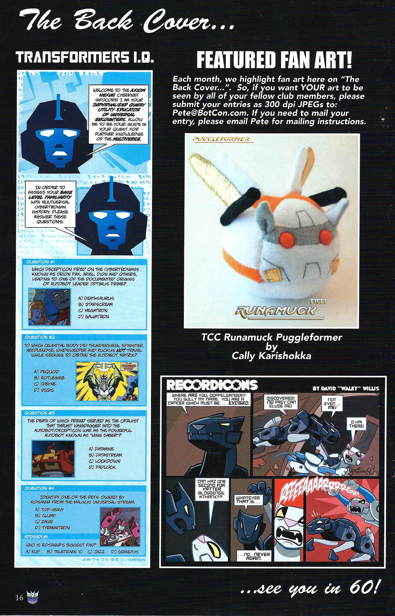 Read online Transformers: Collectors' Club comic -  Issue #43 - 16