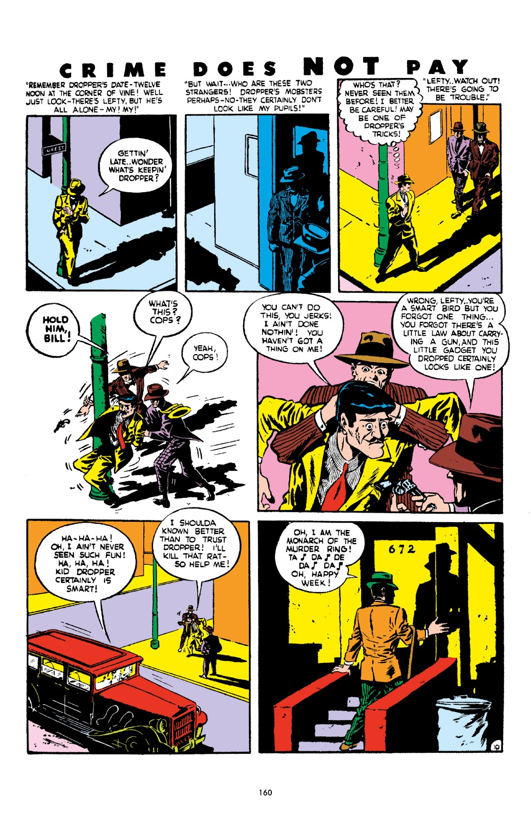Read online Crime Does Not Pay Archives comic -  Issue # TPB 2 (Part 2) - 60