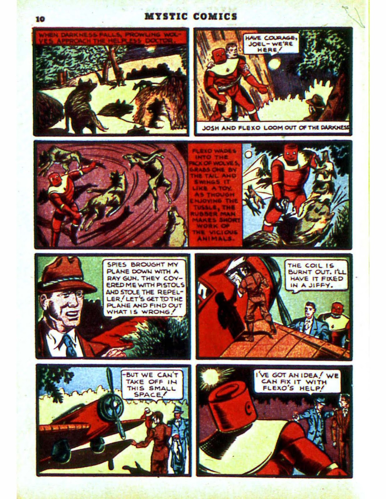 Mystic Comics (1940) issue 2 - Page 12