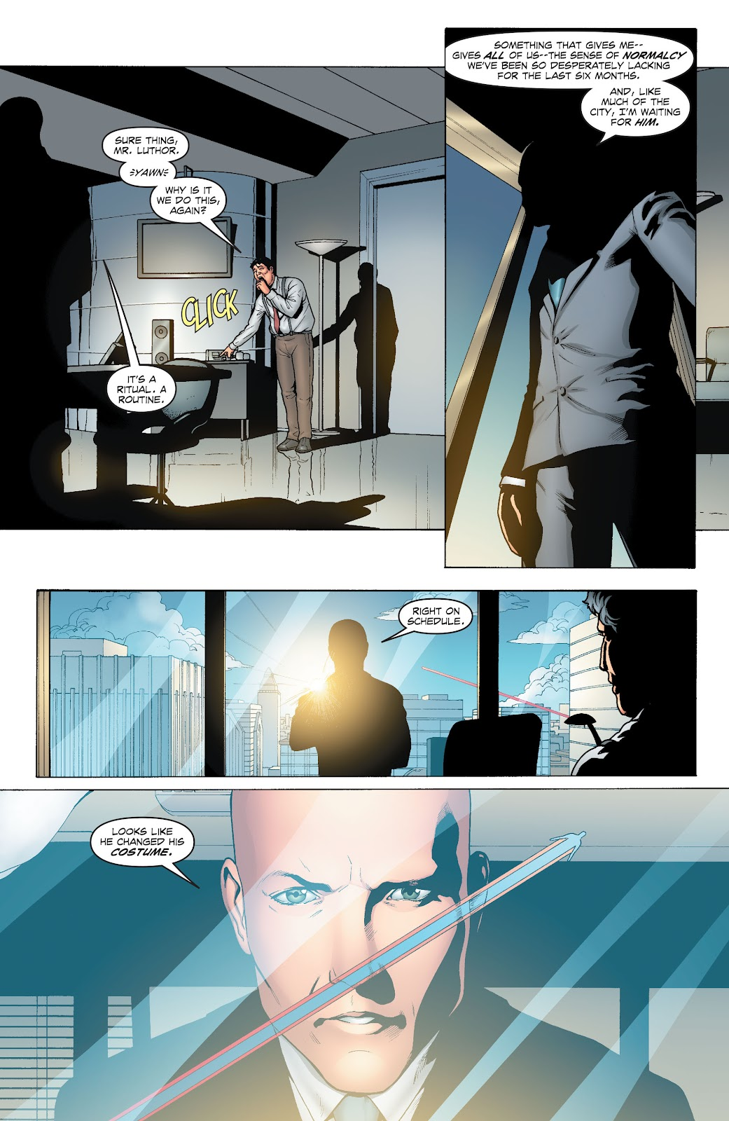 Read online Smallville Season 11 [II] comic -  Issue # TPB 1 - 9