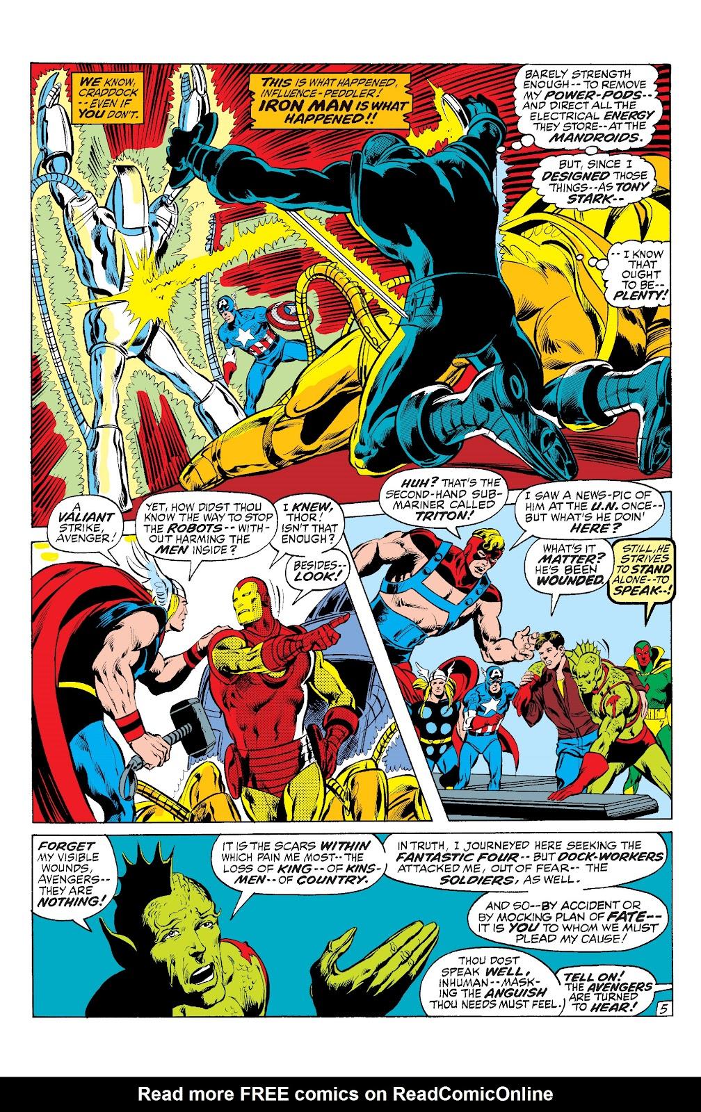 Read online Marvel Masterworks: The Inhumans comic -  Issue # TPB 1 (Part 2) - 100