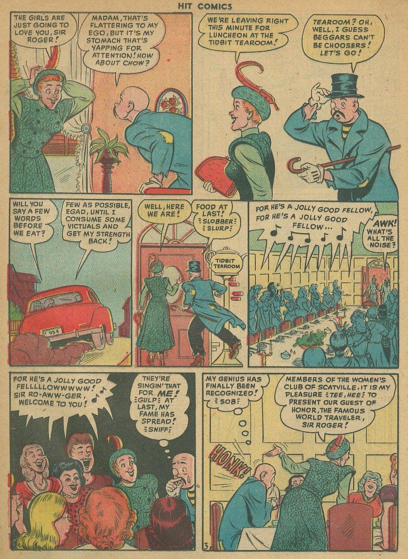 Read online Hit Comics comic -  Issue #61 - 18