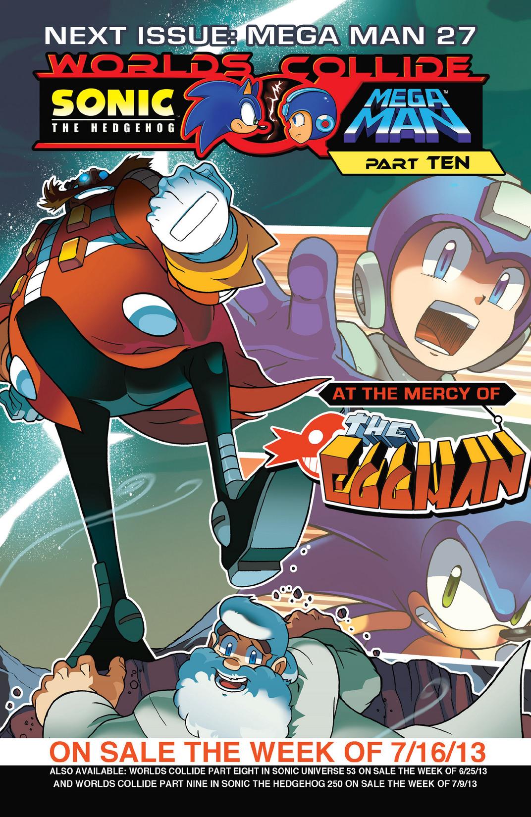Read online Sonic Mega Man Worlds Collide comic -  Issue # Vol 2 - 82