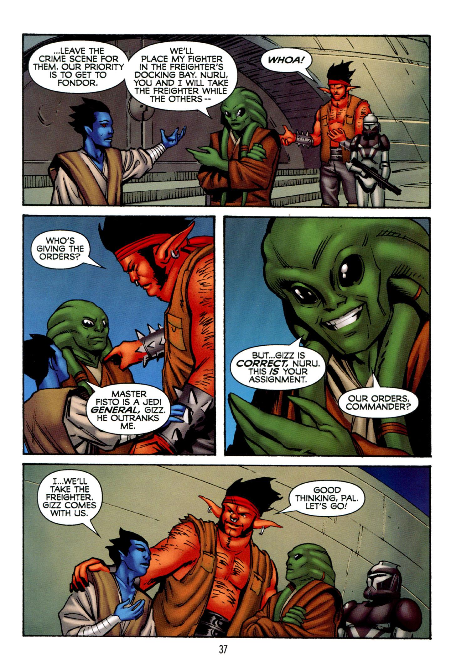 Read online Star Wars: The Clone Wars - Strange Allies comic -  Issue # Full - 38