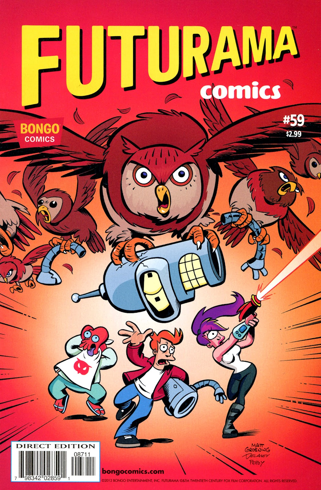 Futurama Comics issue 59 - Page 1