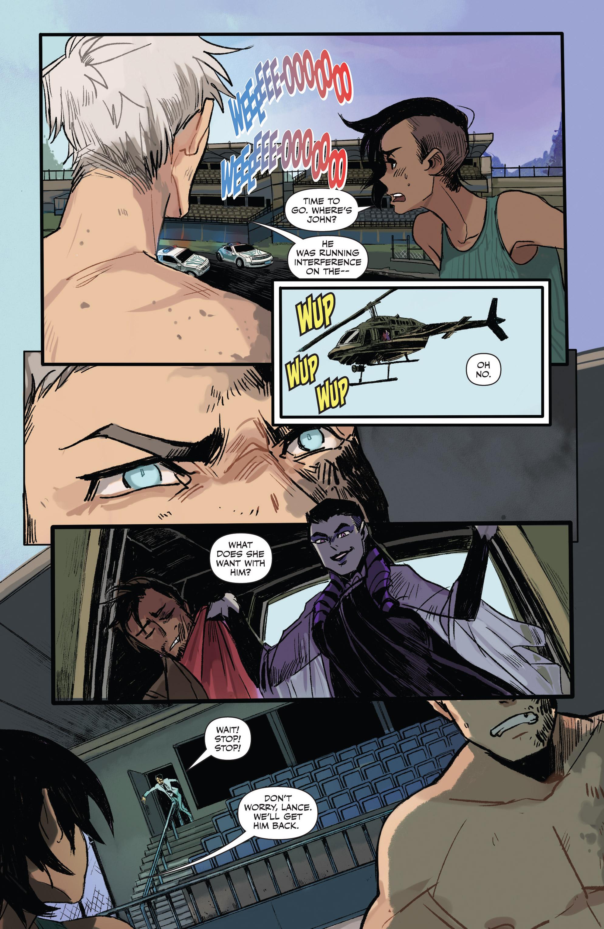 Read online Freelance comic -  Issue #3 - 11