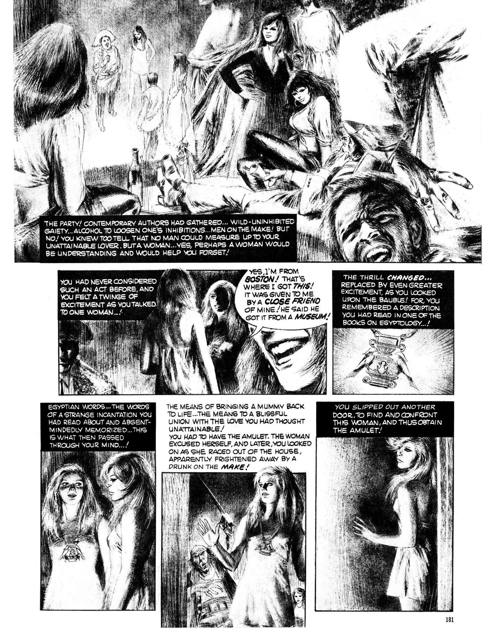 Read online Eerie Archives comic -  Issue # TPB 13 - 182
