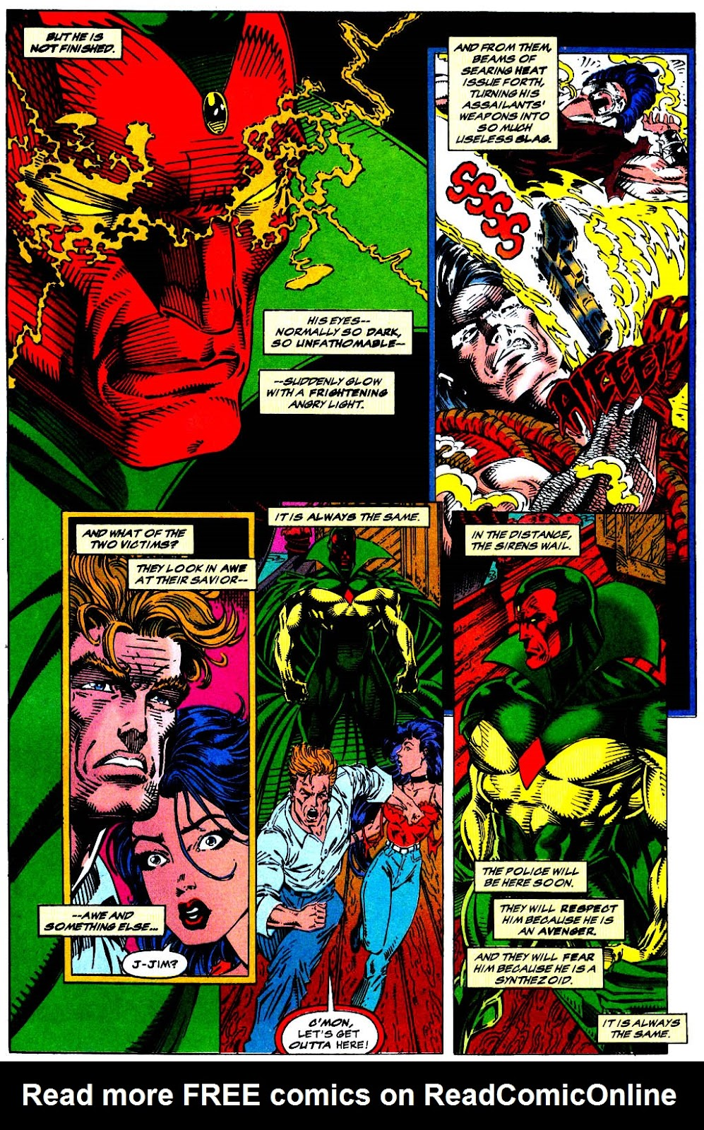 Read online The Vision comic -  Issue #1 - 5