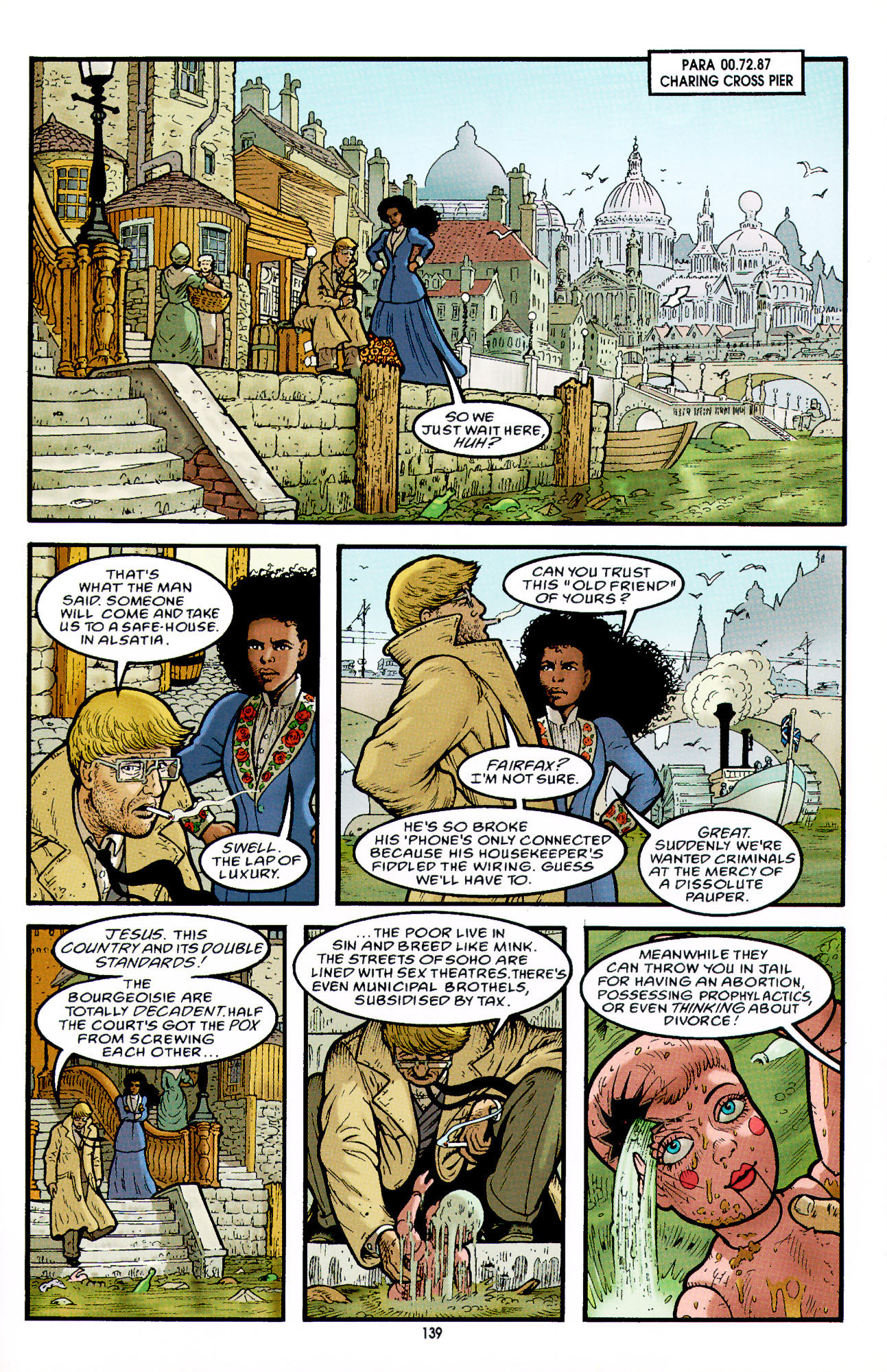 Read online Heart of Empire comic -  Issue #5 - 15