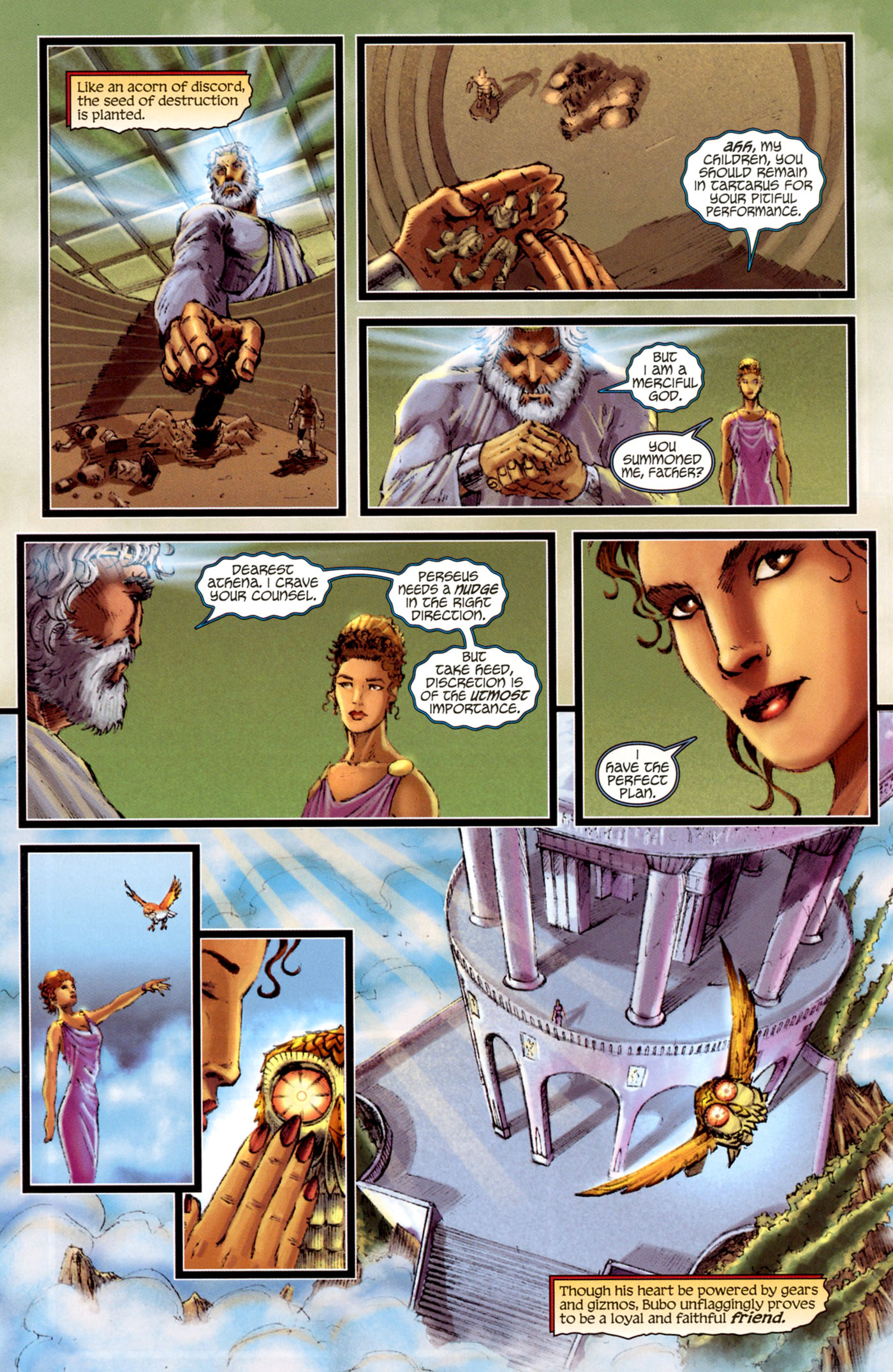Read online Wrath of the Titans comic -  Issue #4 - 7