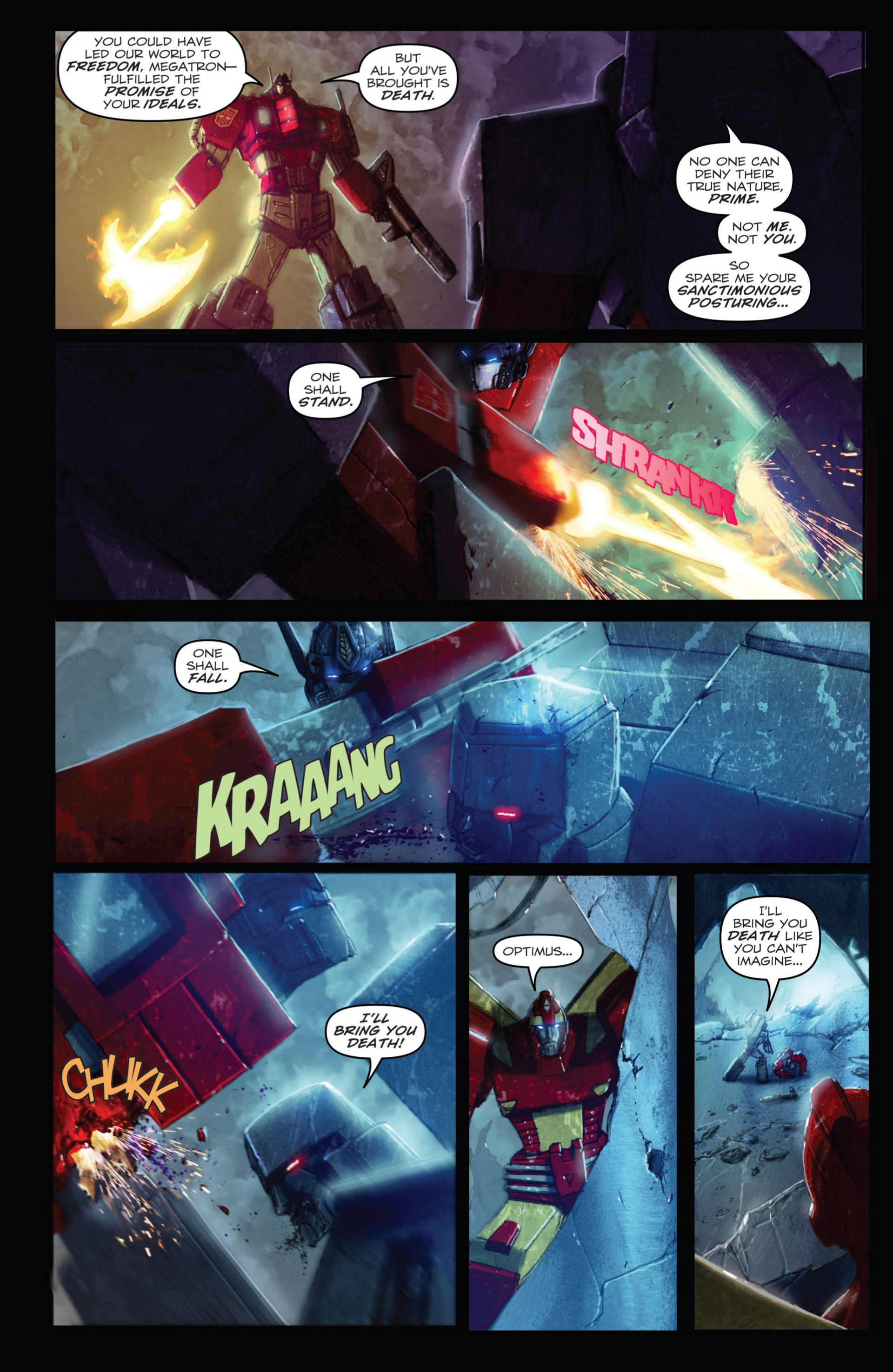 Read online Transformers: Autocracy comic -  Issue # Full - 112