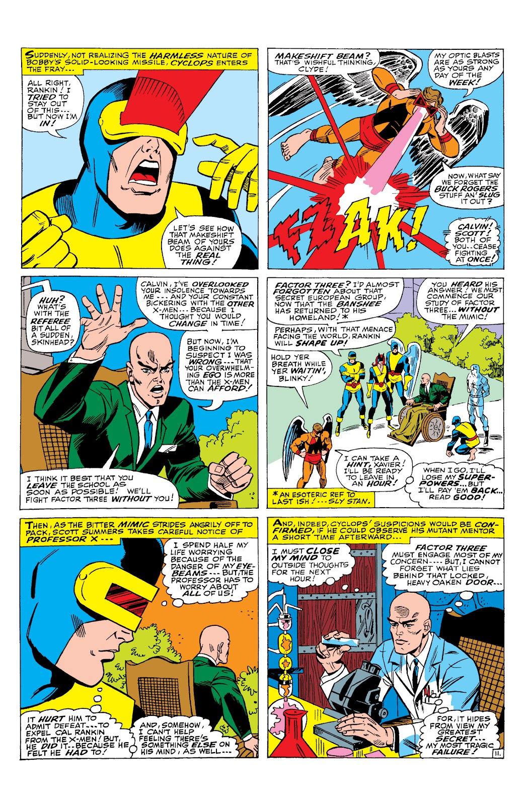 Uncanny X-Men (1963) issue 29 - Page 12