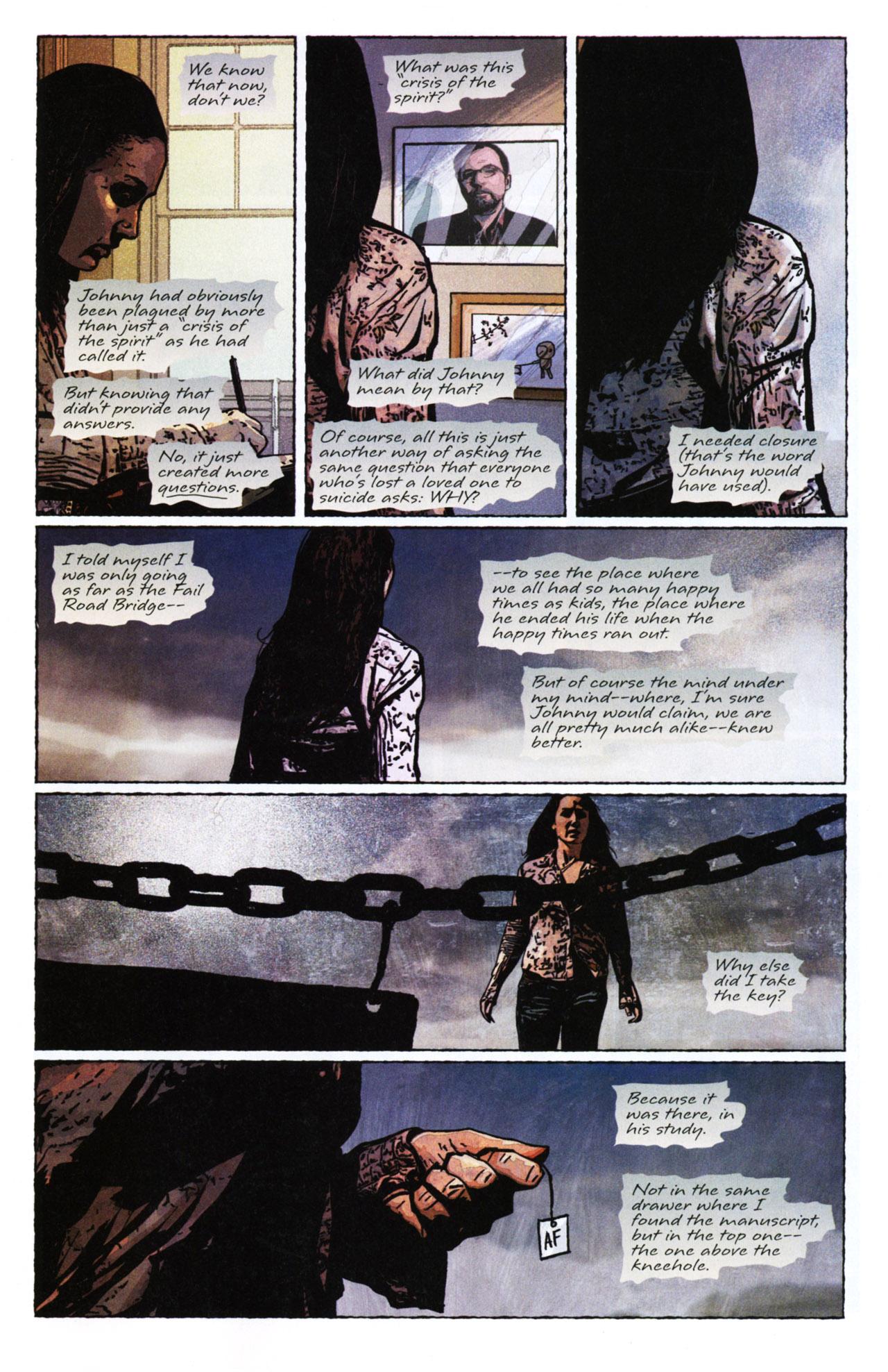 Read online Stephen King's N. comic -  Issue #4 - 7