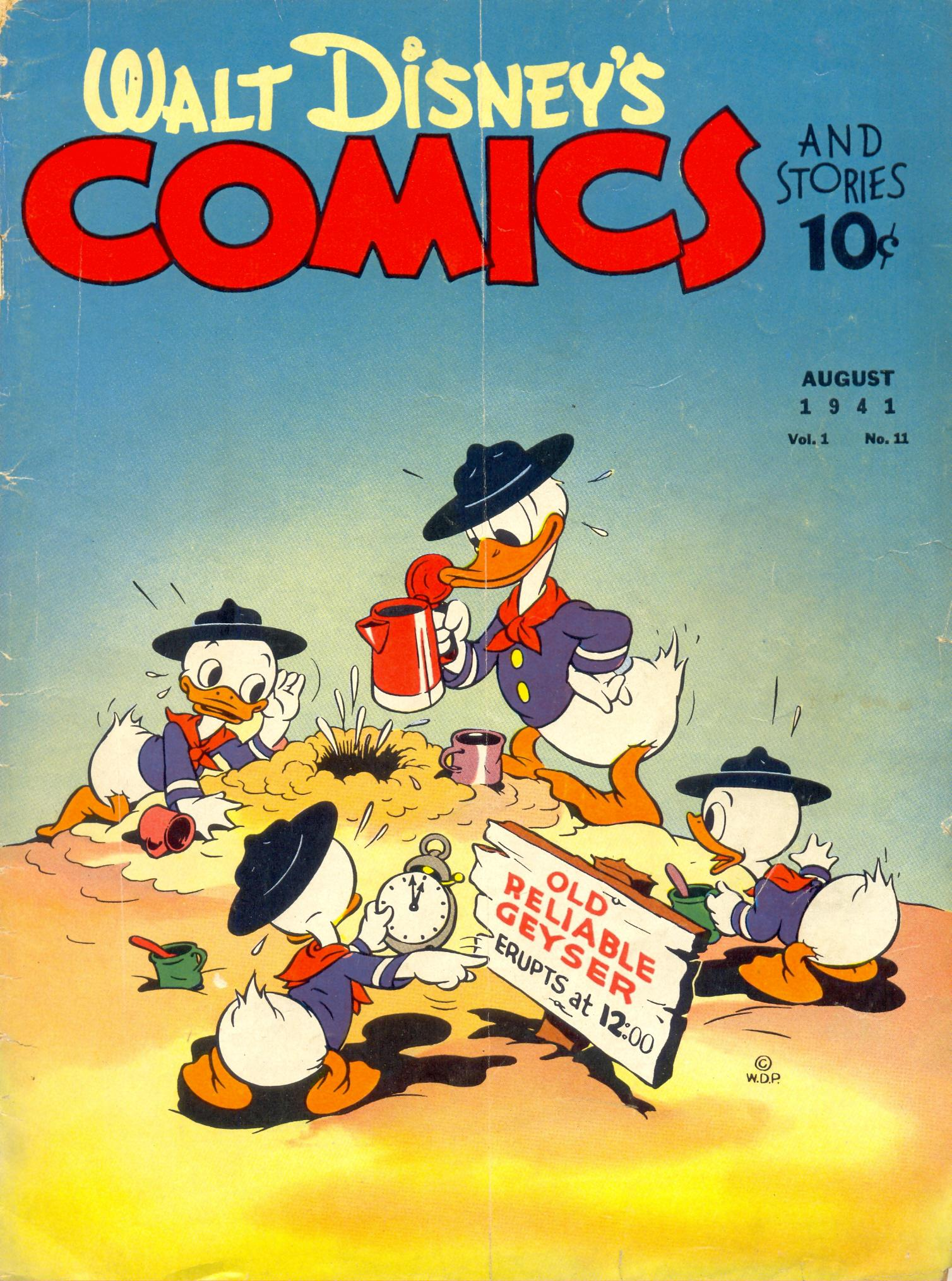 Walt Disneys Comics and Stories 11 Page 1