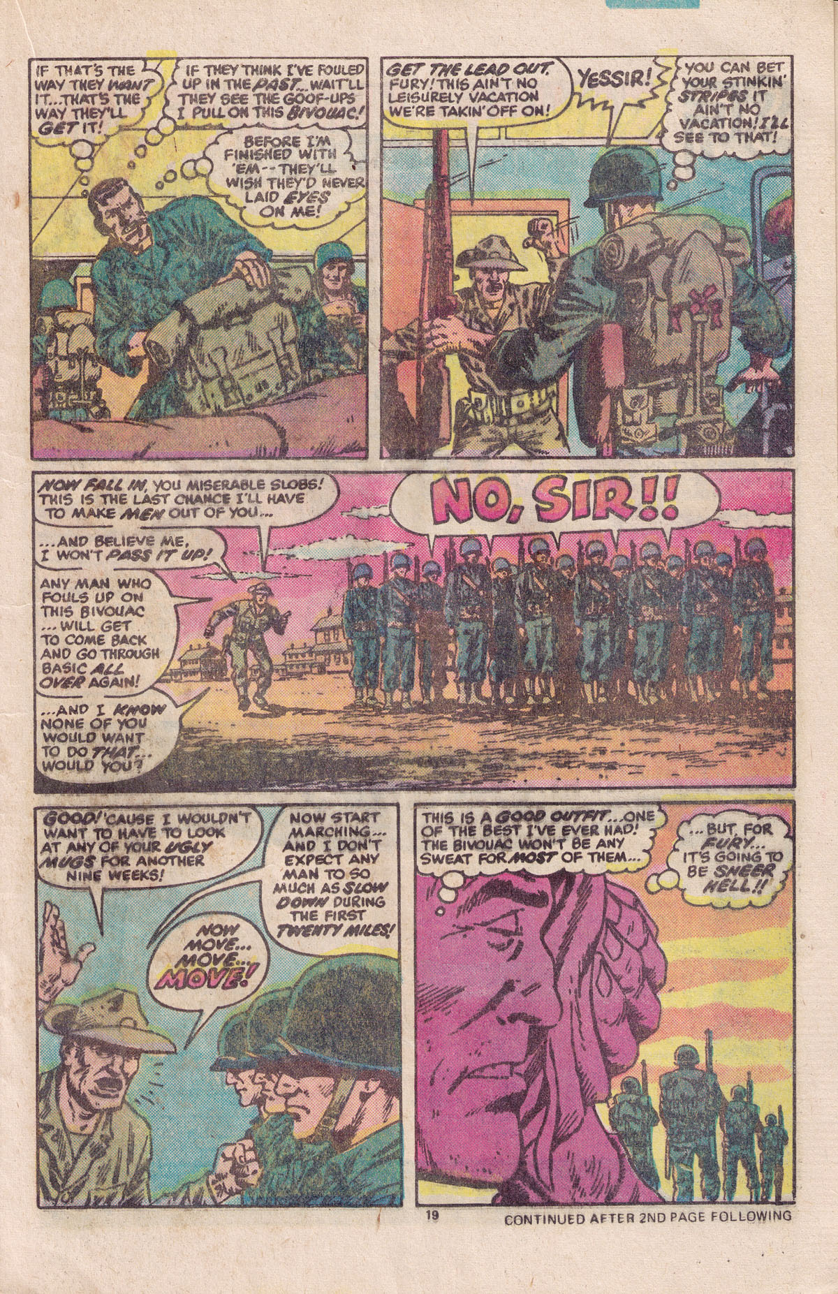 Read online Sgt. Fury comic -  Issue #158 - 21