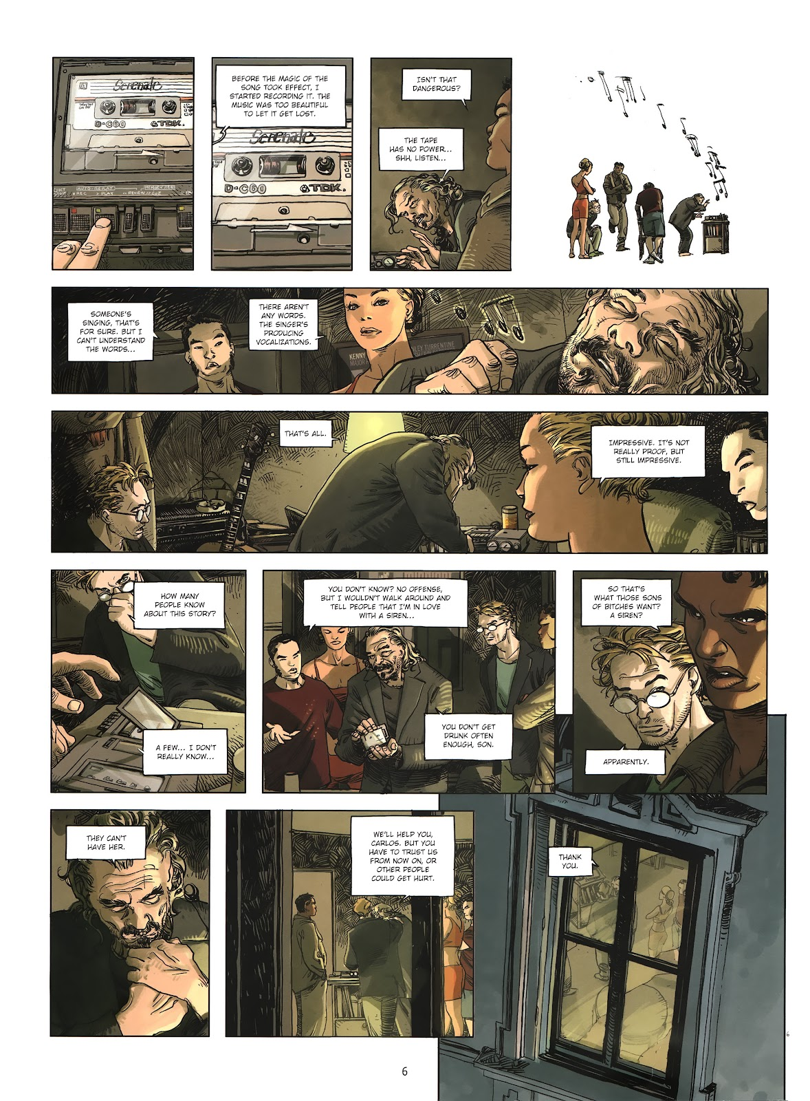 Read online Cutting Edge (2013) comic -  Issue #2 - 6