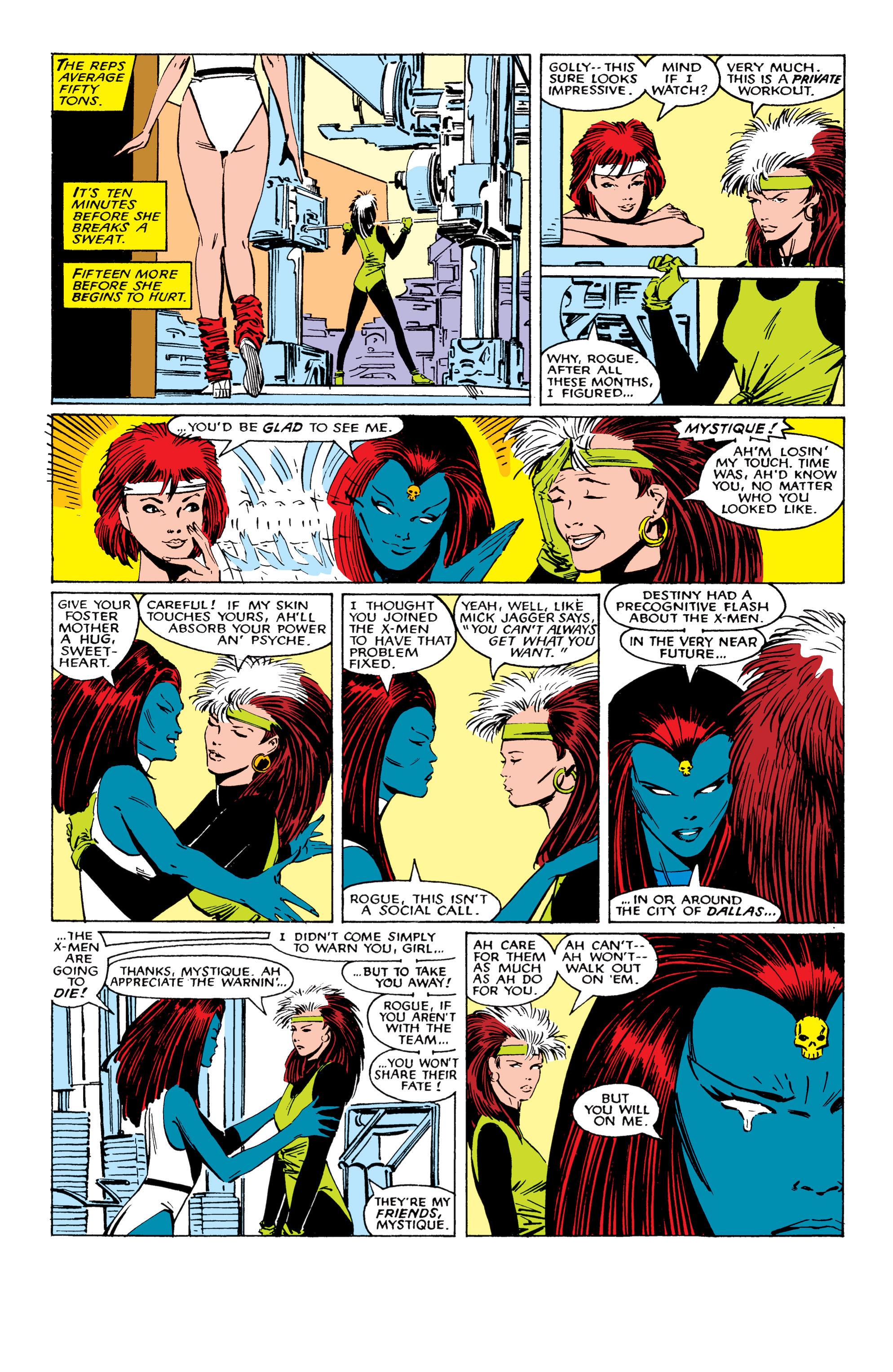 Read online Uncanny X-Men (1963) comic -  Issue #224 - 8