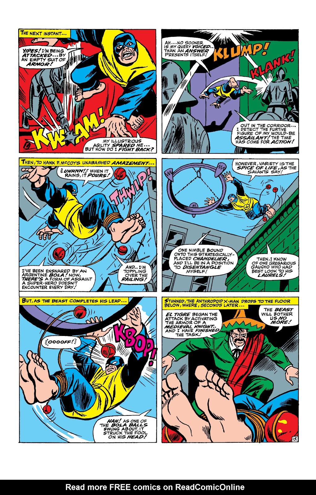 Uncanny X-Men (1963) issue 25 - Page 16