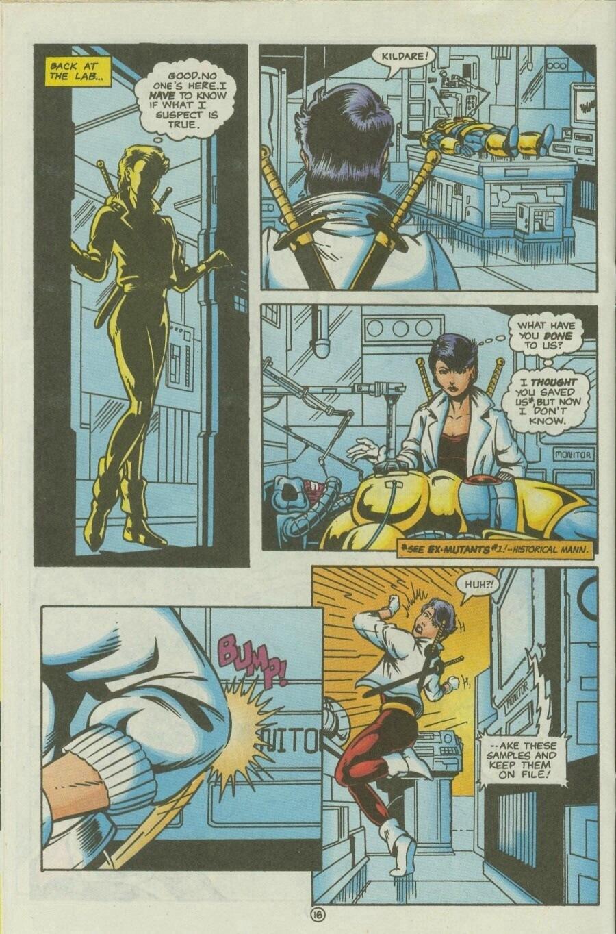 Read online Ex-Mutants comic -  Issue #10 - 19