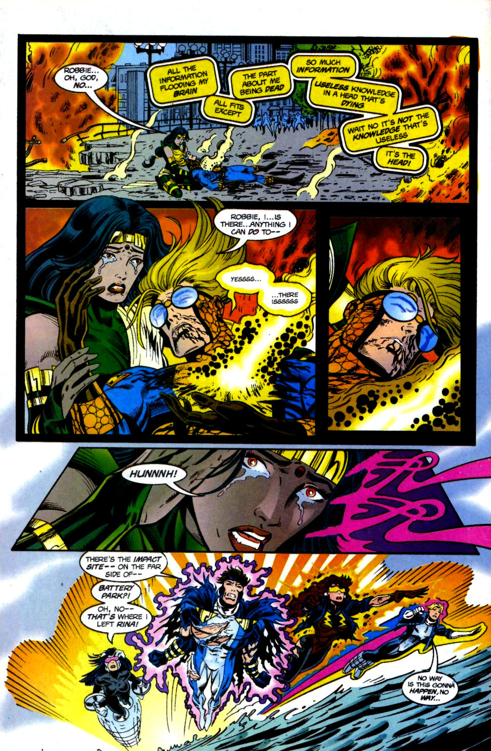 The New Warriors Issue #69 #73 - English 20