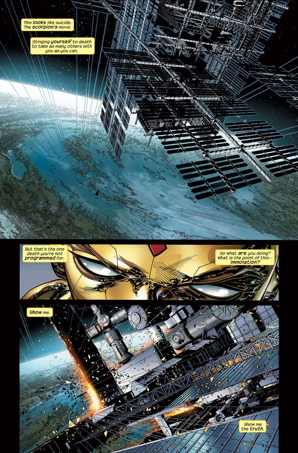 Read online Ultimate Vision comic -  Issue #3 - 10
