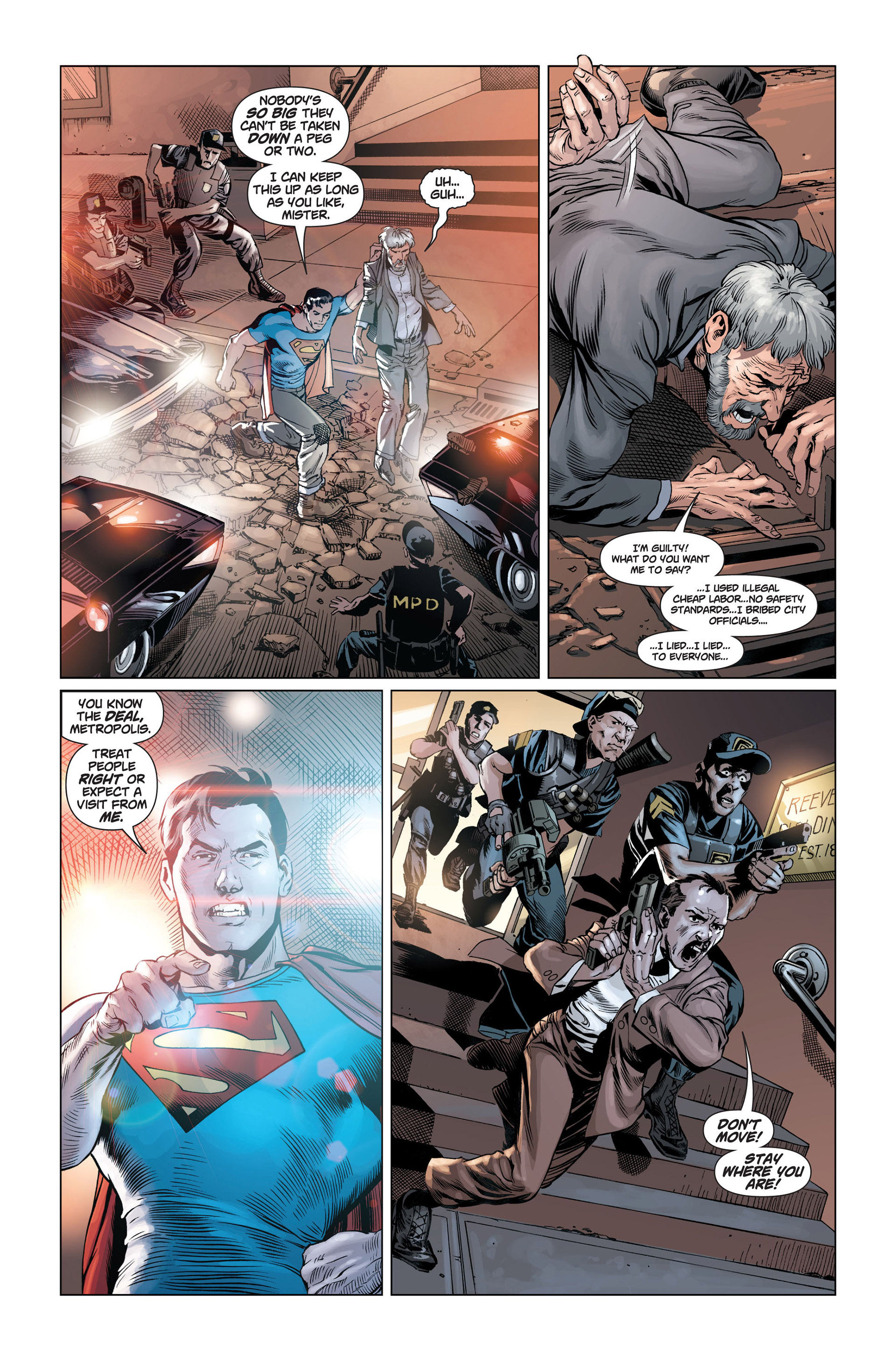 Read online Action Comics (2011) comic -  Issue #1 - 14