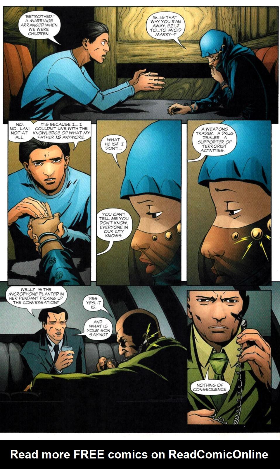 Read online Fallen Angel (2003) comic -  Issue #4 - 15