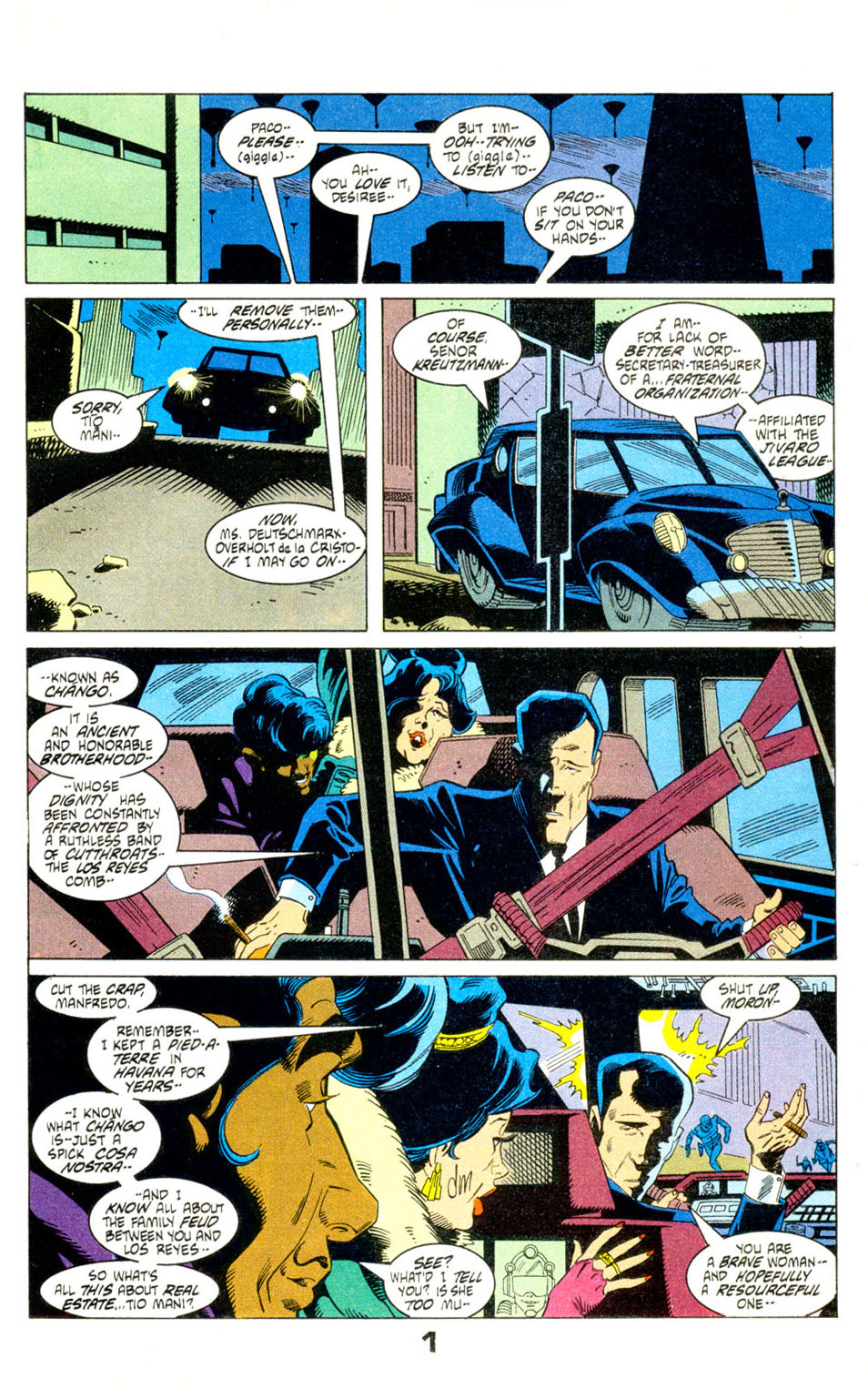 Read online American Flagg! comic -  Issue #29 - 3