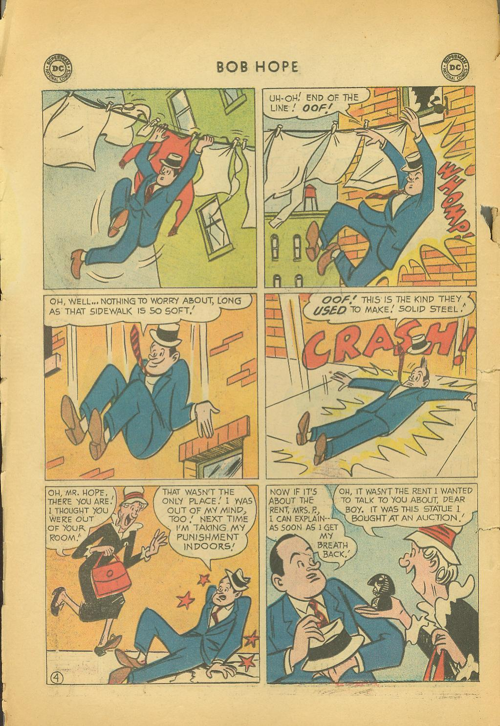The Adventures of Bob Hope issue 64 - Page 6