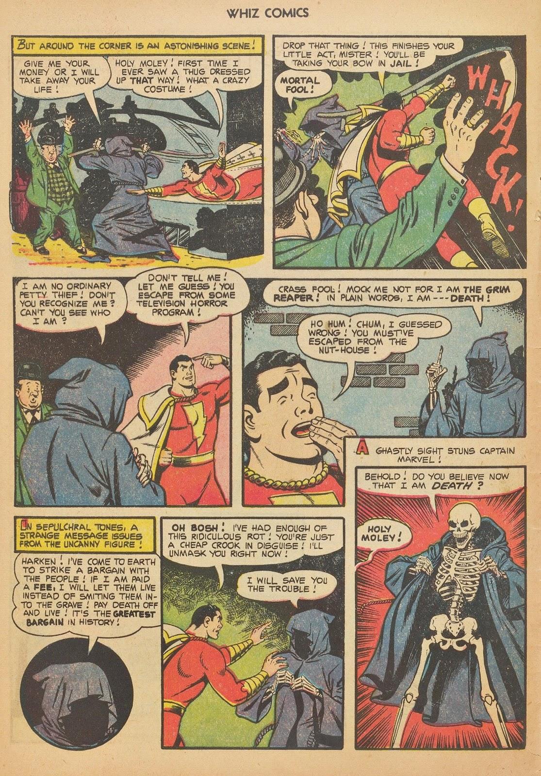 Read online WHIZ Comics comic -  Issue #153 - 4