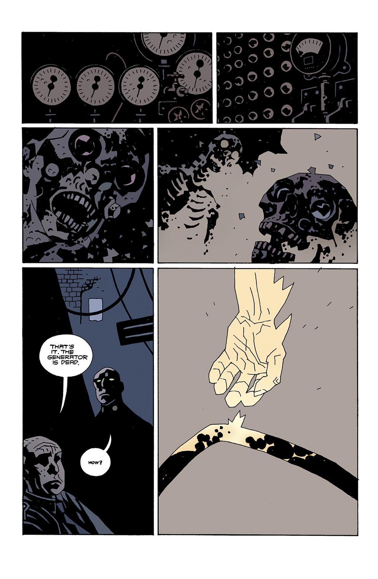 Read online Hellboy: Conqueror Worm comic -  Issue #2 - 21