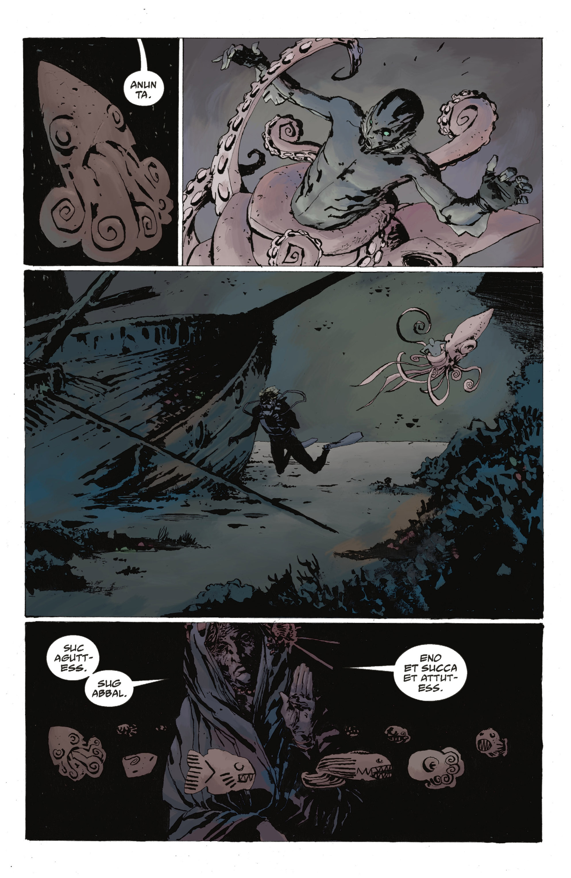 Read online Abe Sapien: The Drowning comic -  Issue #Abe Sapien: The Drowning _TPB - 30