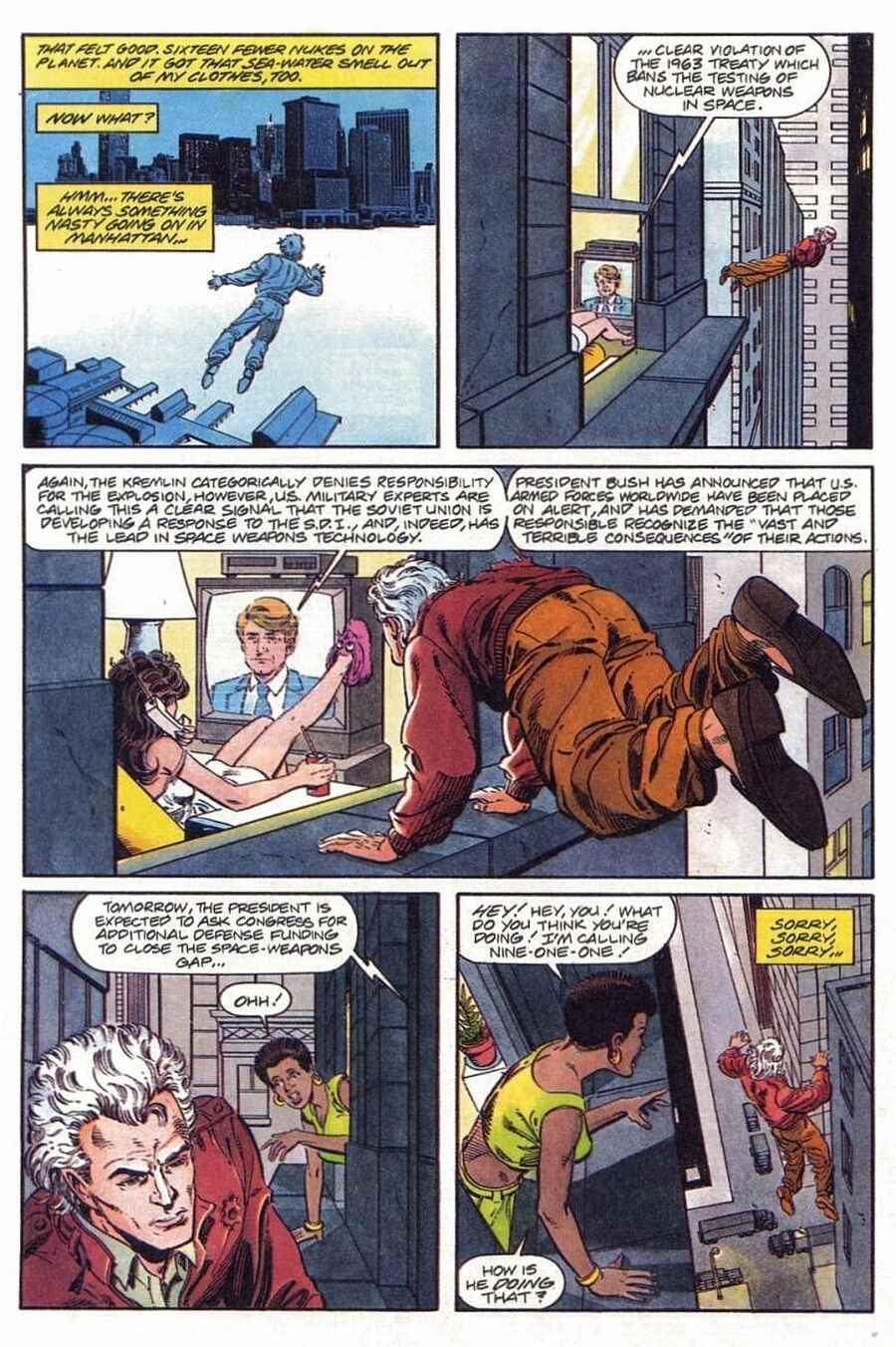 Read online Solar, Man of the Atom comic -  Issue #1 - 25