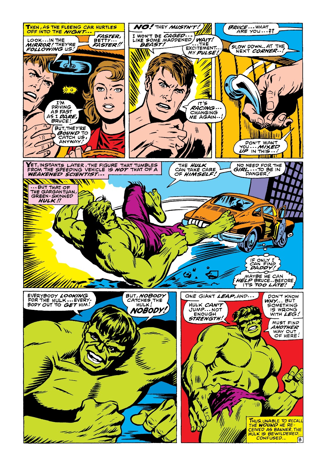 Read online Marvel Masterworks: The Incredible Hulk comic -  Issue # TPB 4 (Part 1) - 57