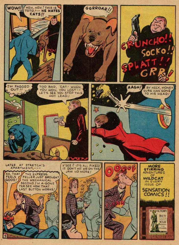 Read online Sensation (Mystery) Comics comic -  Issue #36 - 49
